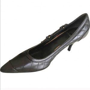 Dark Brown Burberry Heels